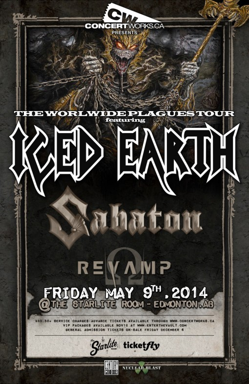 Iced Earth @ Edmonton