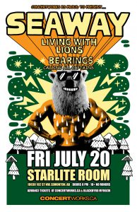 Seaway – Starlite Room – Fri July 20