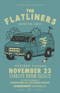 Flatliners – Starlite Room – November 23