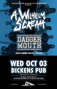 A Wilhelm Scream – Dickens Pub – Wed Oct 03