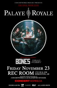 Palaye Royale – The Rec Room – November 23