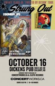 Strung Out – Starlite Room – Tuesday October 16
