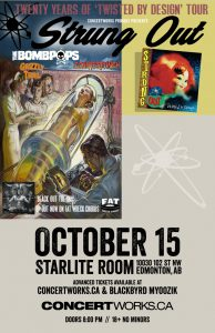 Strung Out – Starlite Room – Monday October 15