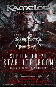 Kamelot – The Starlite Room – September 28