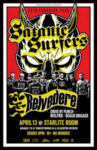 Satanic Surfers – Starlite Room – April 13