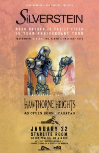 Silverstein – Starlite Room – January 22