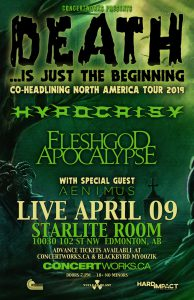 HYPOCRISY – Starlite Room – April 09