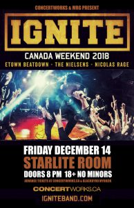IGNITE – Starlite Room – Dec 14