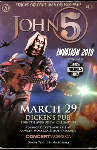 John 5 – Dickens Pub – March 29