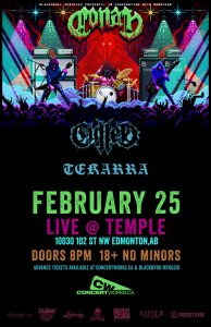 CONAN – TEMPLE EDMONTON – FEB 25