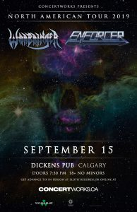 Enforcer/Warbringer – Dickens Pub – September 15