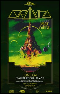 Lord Dying – Starlite Room – Temple  Edmonton – June 04