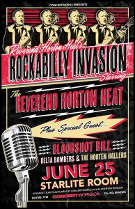 Reverend Horton Heat – Starlite Room Edmonton, AB – June 25