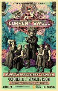 Current Swell – Starlite Room Edmonton – October 31