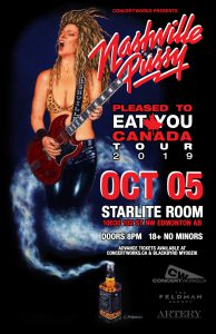 Nashville Pussy – Starlite Room Edmonton – October 05