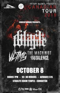 Black Tongue – Starlite Room Temple – October 08