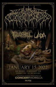 Wolves In The Throne Room – Dickens Calgary – January 15, 2022